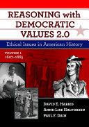 Reasoning With Democratic Values 2.0, Volume 1 [Pdf/ePub] eBook