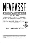 Nevrasse fisiopatologia e clinica del sistema nervoso centrale, neurochirurgia, neuroradiologia, psichiatria