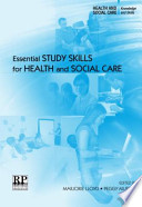 Essential Study Skills for Health and Social Care