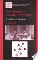 From Coello To Inorganic Chemistry Book PDF