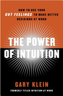 The Power of Intuition Pdf/ePub eBook