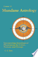 CS13 Mundane Astrology