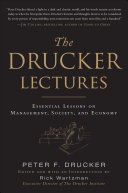 The Drucker Lectures: Essential Lessons on Management, Society and Economy Pdf/ePub eBook