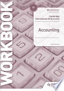 Cambridge International AS and a Level Accounting Workbook