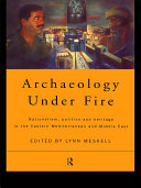 Pdf Archaeology Under Fire