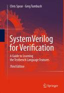 Pdf SystemVerilog for Verification Telecharger