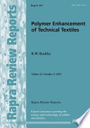 Polymer Enhancement Of Technical Textiles Book PDF