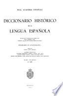 Diccionario histórico de la lengua española