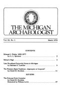 Michigan Archaeologist