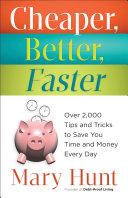Cheaper, Better, Faster Pdf