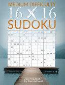 16 X 16 Sudoku Puzzle Book 2   Normal