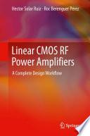 Linear CMOS RF Power Amplifiers