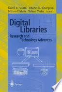 Digital Libraries Research And Technology Advances Book PDF