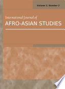 International Journal of Afro Asian Studies