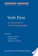 Verb First
