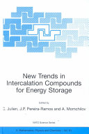 New Trends in Intercalation Compounds for Energy Storage