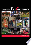 Cover of Theories of Performance