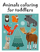 Animals Coloring for Toddlers