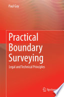 Book Cover: Practical Boundary Surveying
