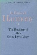In Praise of Harmony