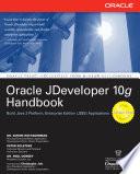 Oracle JDeveloper 10g Handbook
