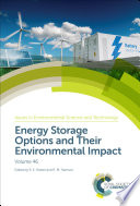 Energy Storage Options and Their Environmental Impact