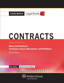 Casenote Legal Briefs for Contracts Keyed to Blum and Bushaw