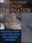 Probationary Officers Exam