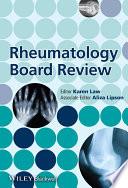 Rheumatology Board Review Book PDF
