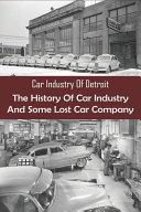 Car Industry Of Detroit