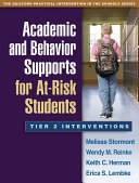 Academic and Behavior Supports for At-Risk Students Pdf/ePub eBook