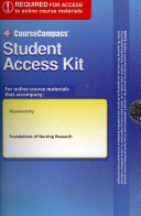 Foundations Of Nursing Research Coursecompass Access Code Card