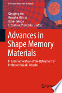 Advances in Shape Memory Materials