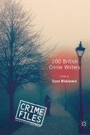 100 British Crime Writers