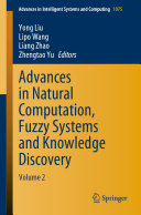 Advances in Natural Computation, Fuzzy Systems and Knowledge Discovery Pdf/ePub eBook