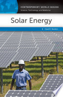 Solar Energy  A Reference Handbook Book