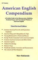21st Century American English Compendium