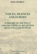 Voices  Silences and Echoes