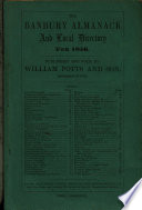 The Banbury Almanack and Local Directory for 1856