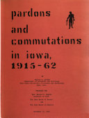 Pardons And Commutations In Iowa 1915 62