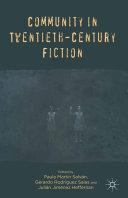 Community in Twentieth-Century Fiction Pdf/ePub eBook