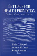 Settings for Health Promotion
