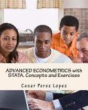 Advanced Econometrics with Stata. Concepts and Exercises