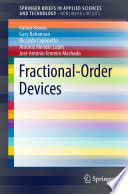 Fractional Order Devices Book