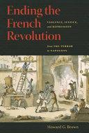 Ending the French Revolution