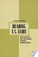 Reading T S  Eliot