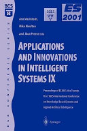Applications and Innovations in Intelligent Systems IX