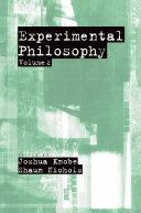 Experimental Philosophy [Pdf/ePub] eBook