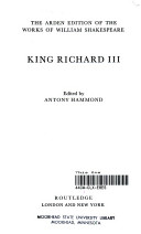 Books - Richard Iii | ISBN 9780333470695