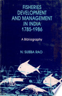 Fisheries Development And Management In India  1785 1986